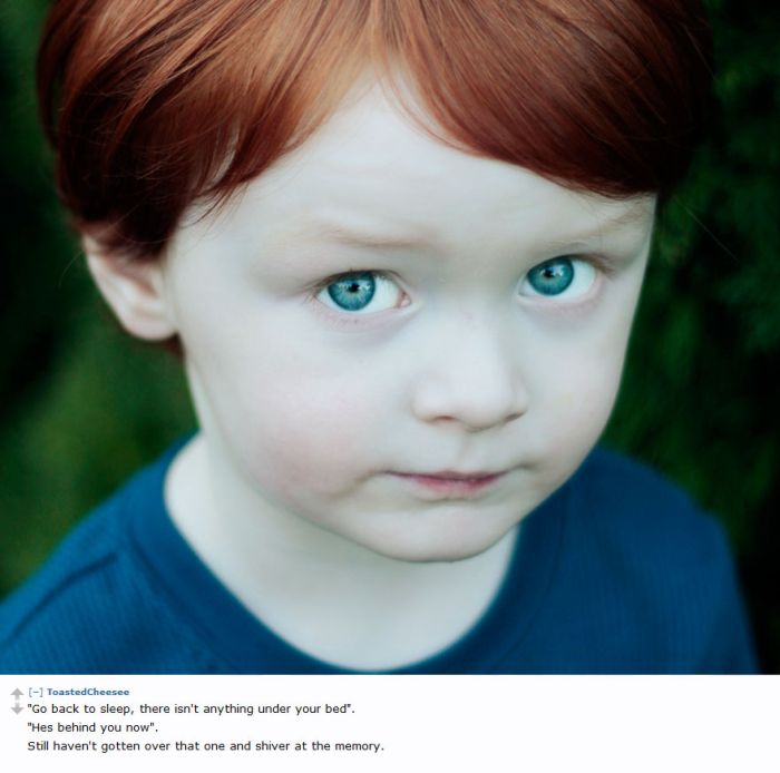 Creepy Things Kids Tell Their Parents