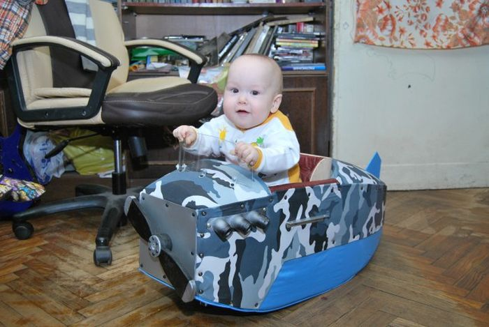 Airplane Stroller