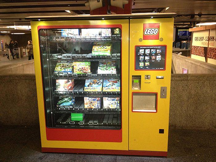 Unusual Vending Machines