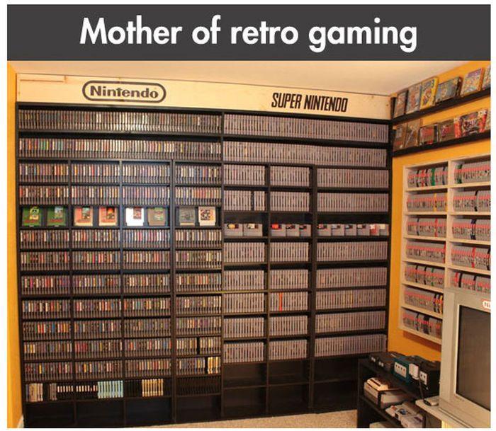 Retro Gaming Fan