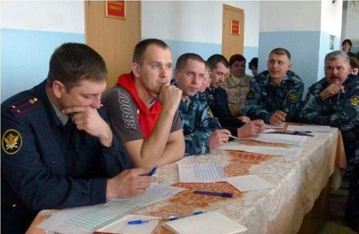Beauty Pageant in Russian Prison