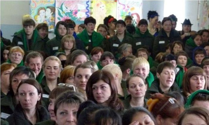 Beauty Pageant in Russian Prison