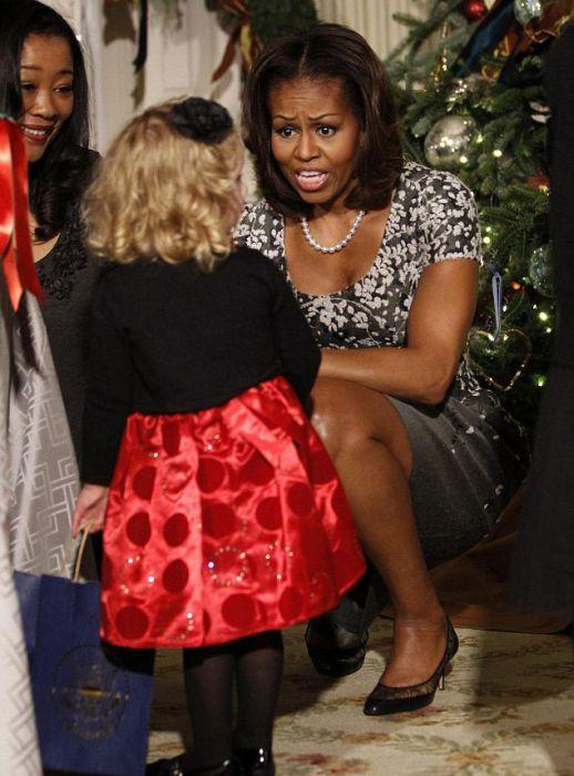Obama's Dog Sunny Knocked Over a Little Girl
