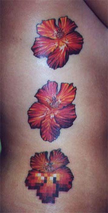Pixel Art Tattoos