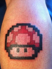 Pixel Art Tattoos