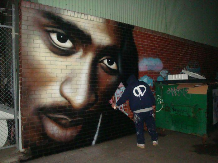 Great Street Art by Owen Dippie