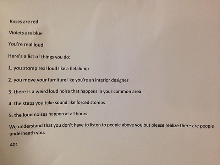 Hilarious Passive-Aggressive Notes