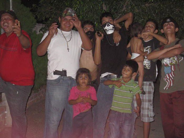 A Mexican Cartel's Family on Facebook