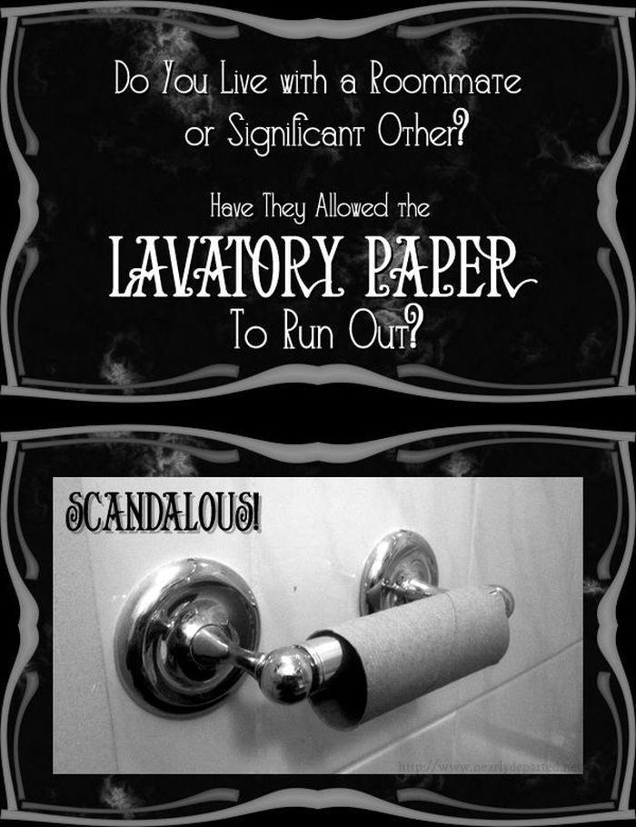 Toilet Paper Prank