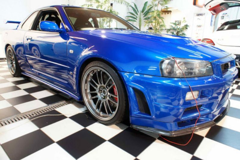 Nissan GT-R from Fast and Furious - Found on eBay