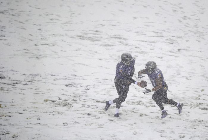 Bad Weather at NFL Games