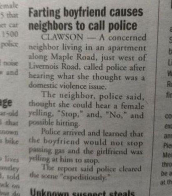 Bad and Good Neighbors