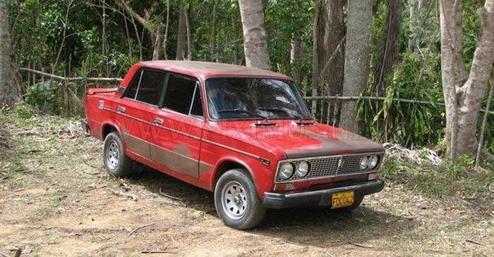 Russian Cars In Cuba Vehicles