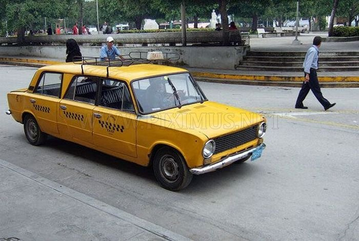 Russian Cars In Cuba Vehicles