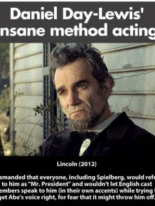Daniel Day-Lewis` Method of Acting