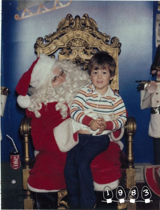 Annual Santa Photo, 1980-2013, part 19802013