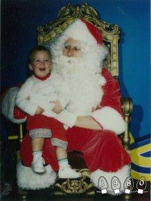 Annual Santa Photo, 1980-2013