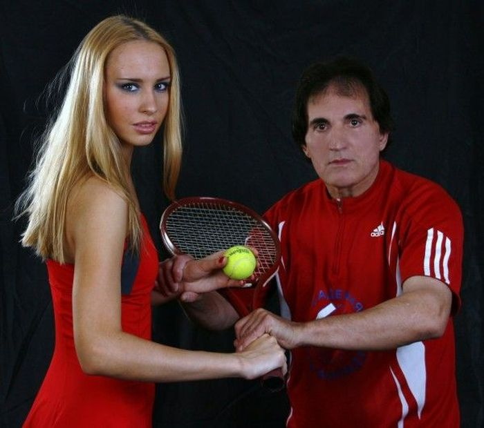 Russian Tennis Coach Who Only Trains Beautiful Women