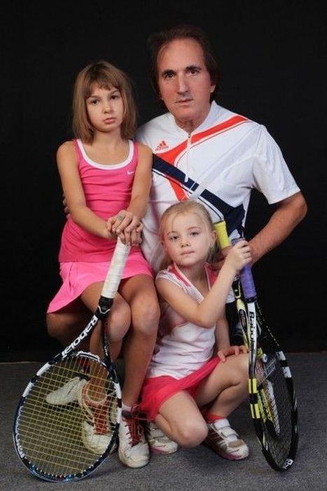 Russian Tennis Coach Who Only Trains Beautiful Women