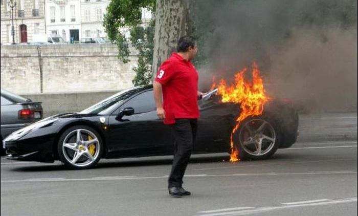 Ferraris in Troubles