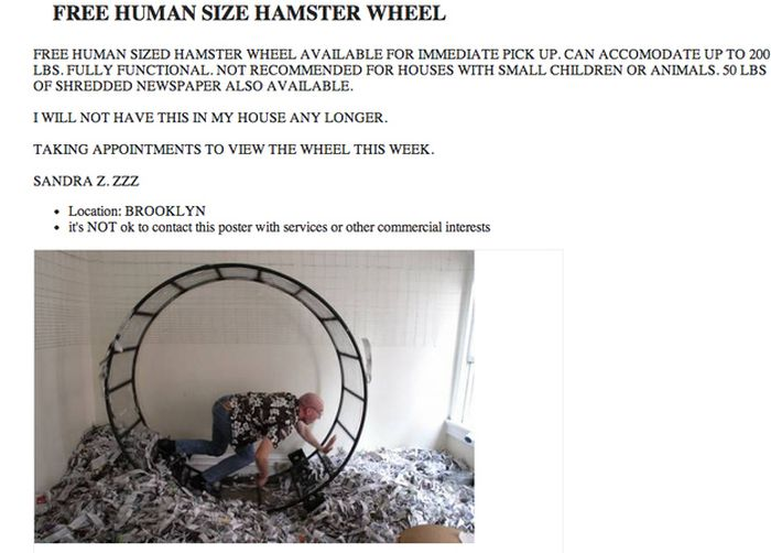 The Weirdest Craigslist Ads of 2013, part 2013