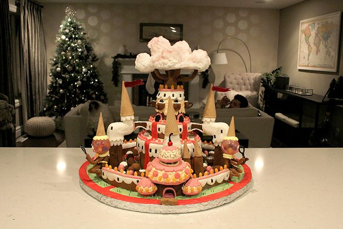 Gingerbread Candy Kingdom