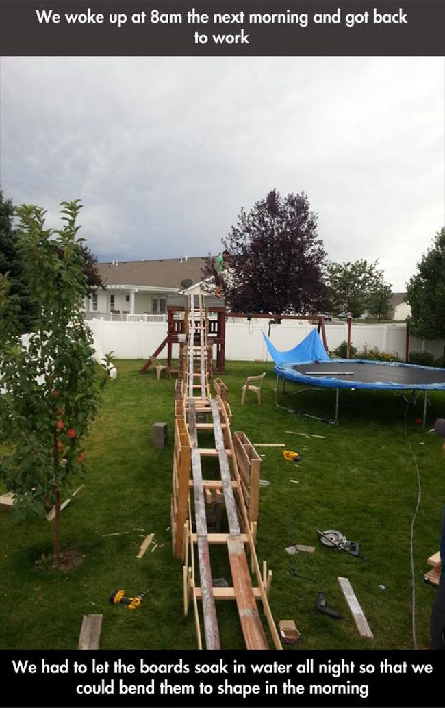 Backyard Rollercoaster