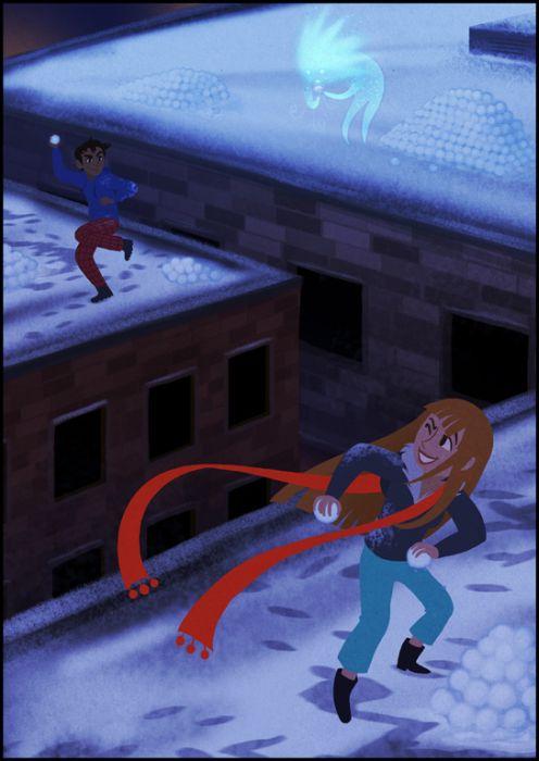 Beautiful Comics About Winter
