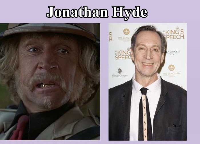 Jumanji Cast Then and Now