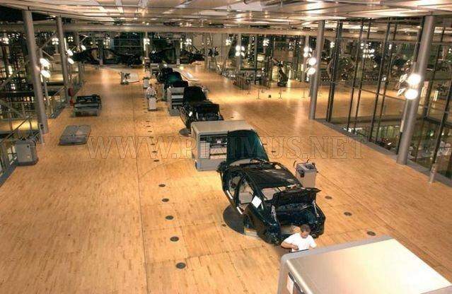Volkswagen's factory of Dresde