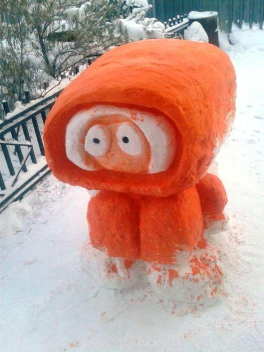 Snow Kenny McCormick
