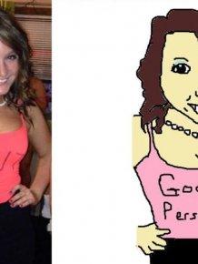 MS Paint Portraits of Twitter Followers