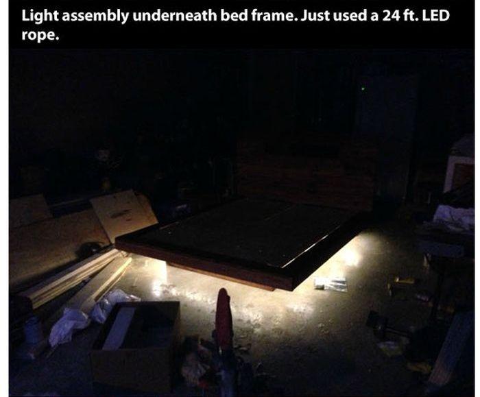 DIY Levitating Bed