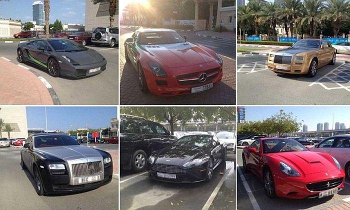 Cars the Dubai Students Drive