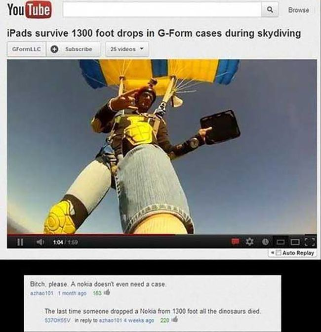 Funny Youtube Comments Part 16, part 16