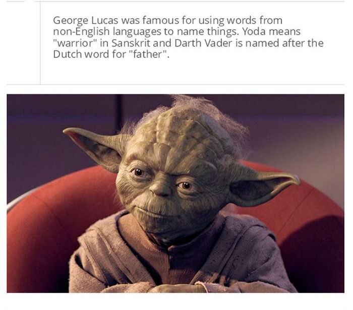 Things You Probably Didn't Know About Star Wars