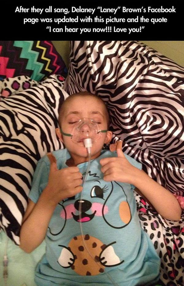 Terminally Ill Girl Gets Her Wish