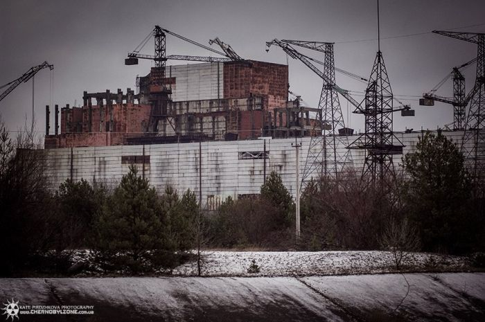 Chernobyl in Winter