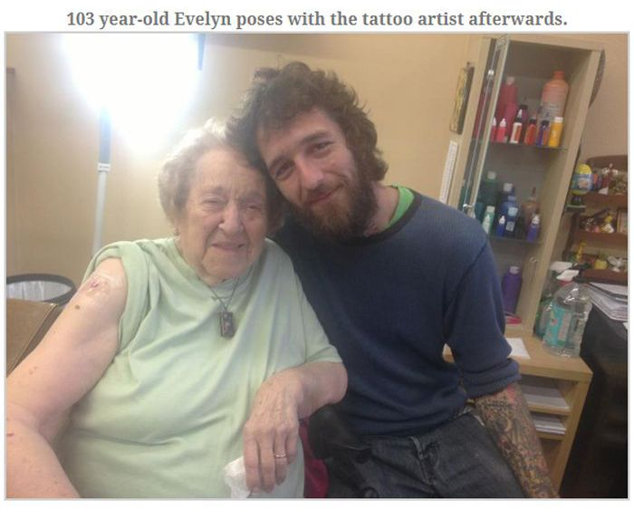 The Best 103th Birthday Ever