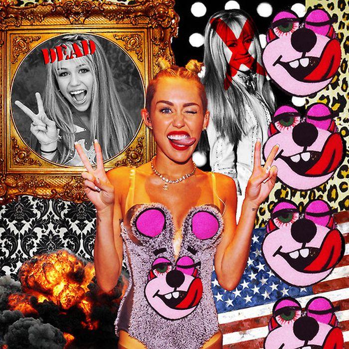 Transformation of Miley Cyrus