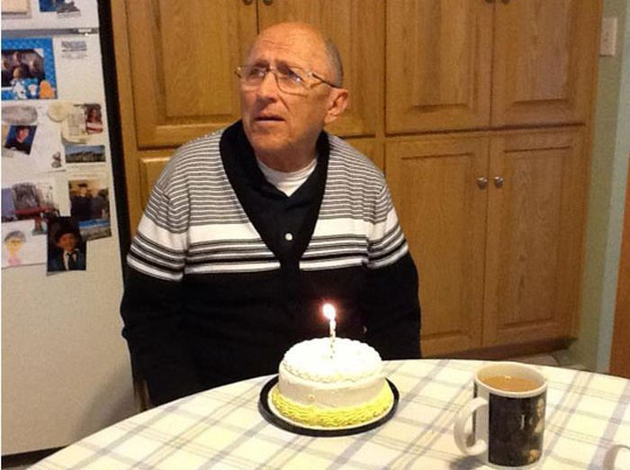 Realizing It's His 70th Birthday