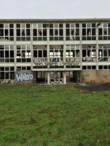 Graffiti Inside an Abandoned Nursing Home