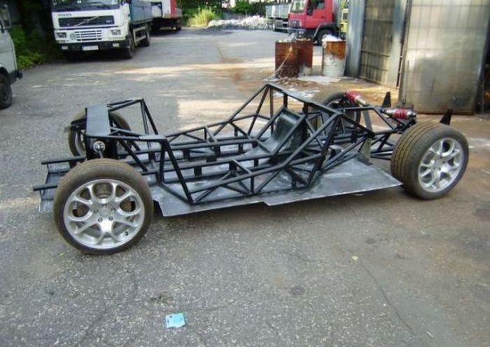 Homemade McLaren F1 Supercar