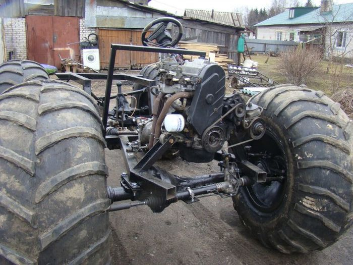 Homemade Offroad Car