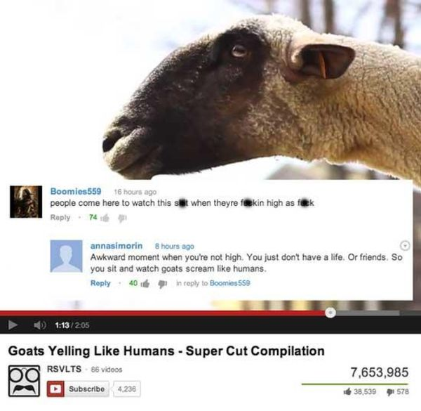 Funny Youtube Comments Part 17, part 17