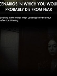 You'd Probably Die From Fear