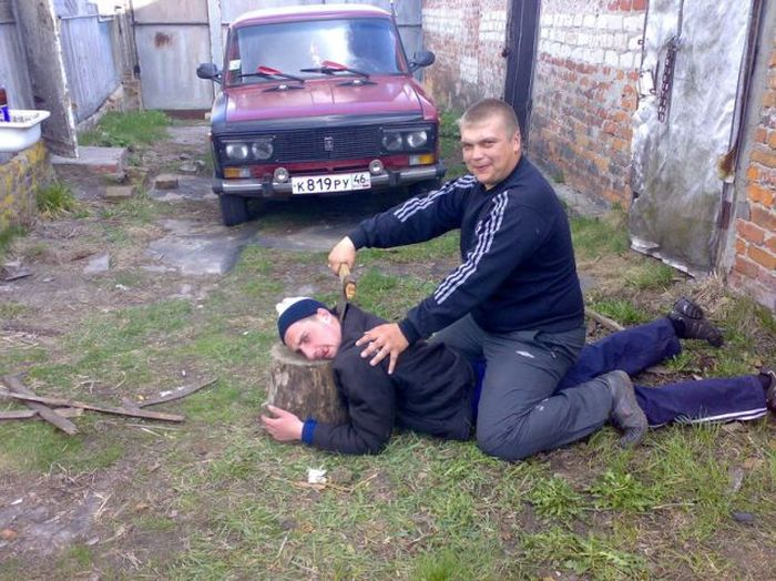 Funny and Weird Russian People