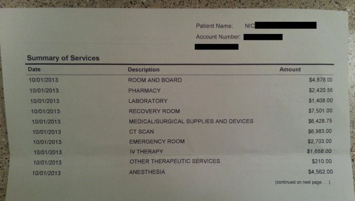 How Much It Costs to Treat an Appendicitis in America
