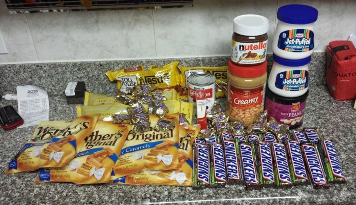 Making of a Giant Snickers