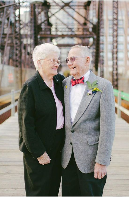 Photoshoot for an Elderly Couple